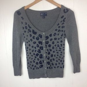 American Eagle Cotton Wool Blend Cardigan S